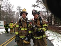 Engineer Artie Abbott and FF Kevin Moore